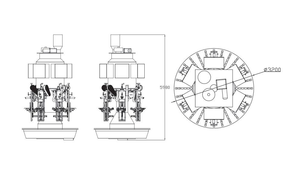 6-Tartimli-Karoser-Ventilli-Un-Paketleme-Makinasi-teknik-cizim