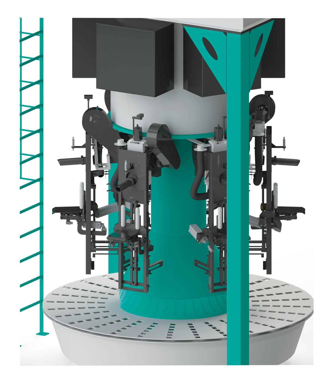6 Tartımlı Karoser Ventilli Un Paketleme Makinası 10/25/50 Kg Detay 0