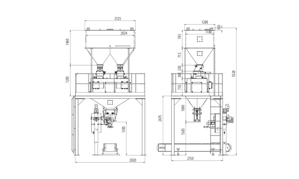 Cift-Tartim-Tek-istasyon-Bakliyat-Paketleme-Makinasi/Cift-Tartim-Tek-istasyon-Bakliyat-Paketleme-Makinasi-Teknik-cizim
