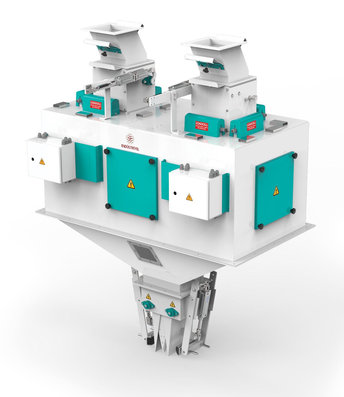 Çift Tartım Tek İstasyon Bakliyat Paketleme Makinası 10/25/50 Kg Detay 0