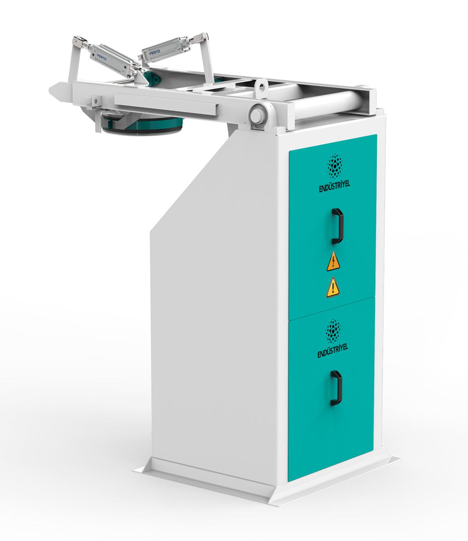 Çift Tartım Tek İstasyon Kepek Paketleme Makinası 15/50 Kg Detay 1