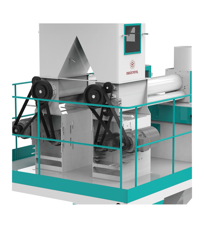 Çift Tartım Tek İstasyon Un Paketleme Makinası 25/50 Kg Detay 1