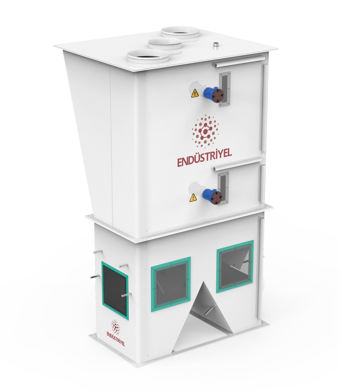 Çift Tartım Tek İstasyon Un Paketleme Makinası 25/50 Kg Detay 3