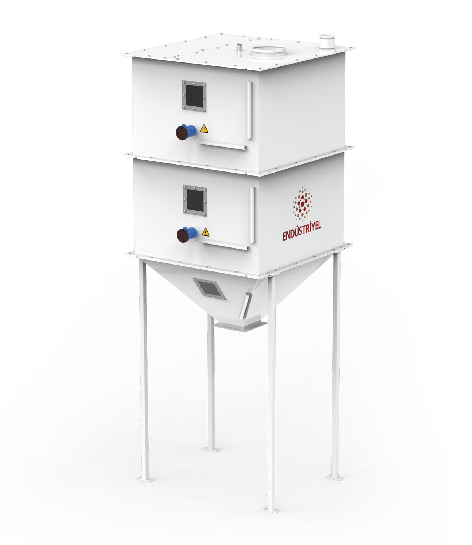 Tek Tartım Tek İstasyon Bakliyat Paketleme Makinası 10/25/50 Kg Detay 0
