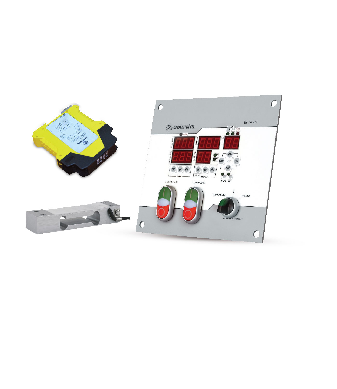 Roll Panel with LoadCell