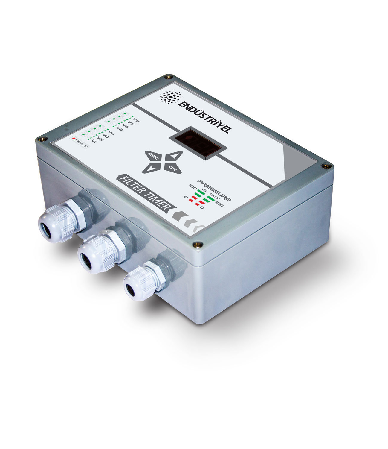 Filter Control Unit with Pulse Valve