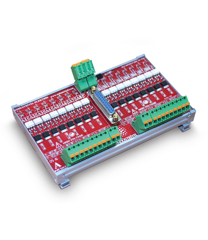 PLC Triyaklı Output Modülü