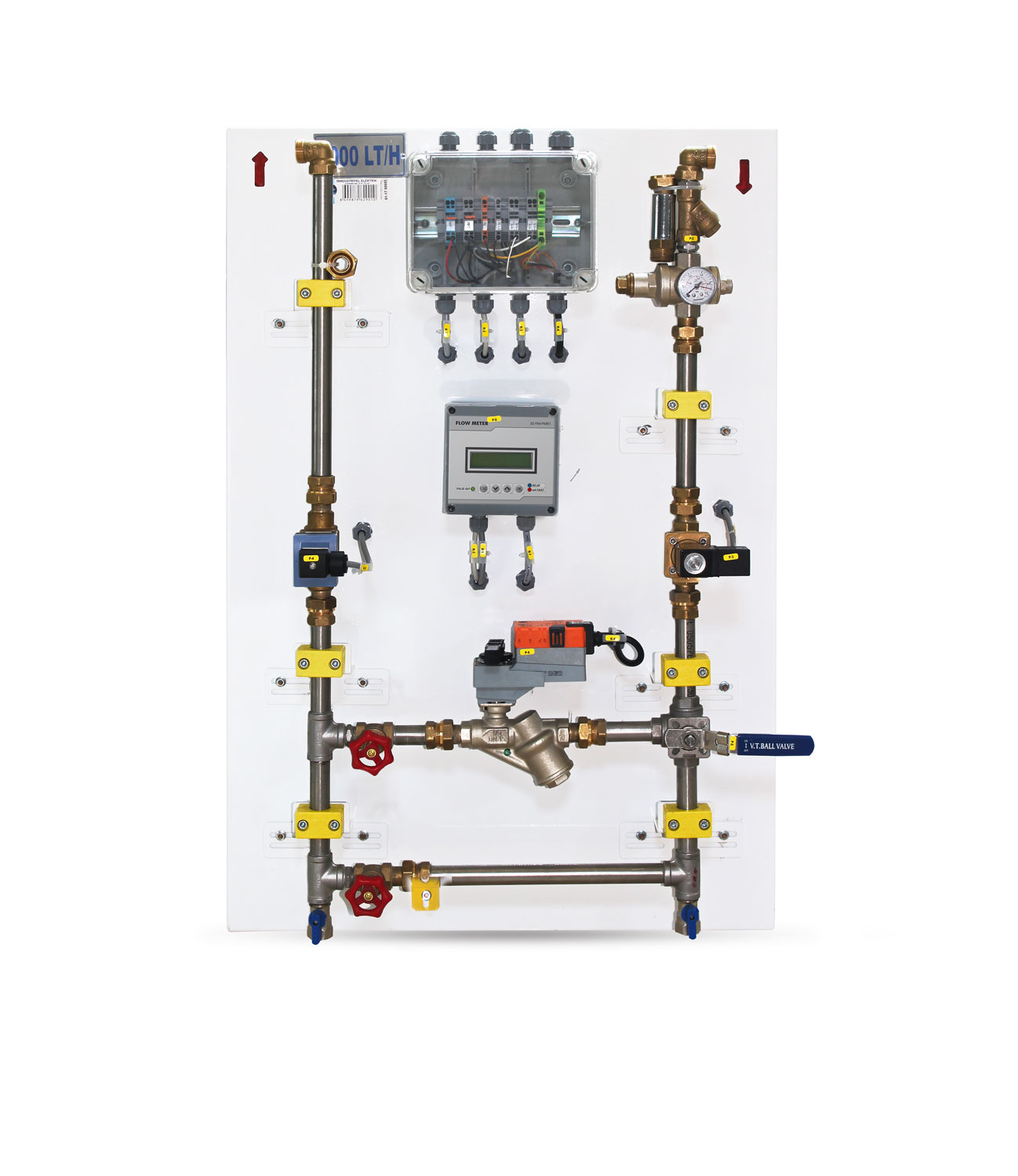 Automatic Water Dampening Unit With Programmable Digital Indicator